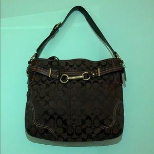 Coach Brown Medium Handbag